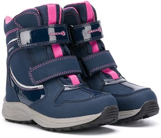 Geox Kids double-strap ankle boots