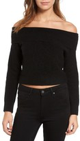 Rebecca Minkoff Women's Hunter Off The Shoulder Sweater