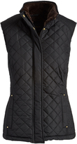 Weatherproof Black Lined Vest - Plus Too