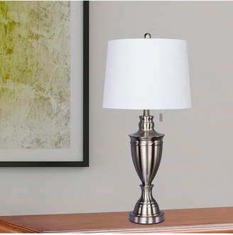 3.1 Phillip Lim Fangio Lighting 1587BS Classic Urn Brushed Steel Table Lamp