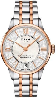 Tissot Chemin des Tourelles Powermatic 80 Lady Watch T099.207.22.118.02