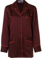 Givenchy striped relaxed shirt - women - Acetate/Viscose - 40