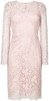 Dolce & Gabbana lace dress - women - Silk/Cotton/Polyamide/Viscose - 46