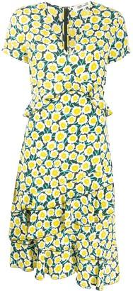 Dvf Diane Von Furstenberg Daica ruffle-trimmed dress