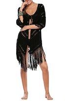 Wagiz Women Lace Crochet Bikini Bathing Swimsuits Cover Ups Beach Dress