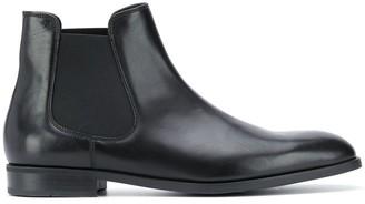 Emporio Armani Plain Chelsea Boots