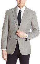 Tommy Hilfiger Men's PV Sport Coat Houndstooth, Grey, Short