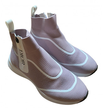 Christian Dior Pink Cloth Trainers