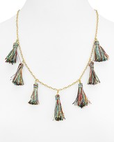 "Rebecca Minkoff Kaleidoscope Tassel Necklace, 22"""