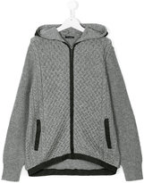 Diesel hooded cardigan