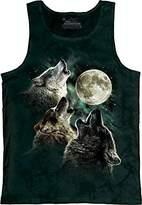 The Mountain Three Wolf Moon Tank Top