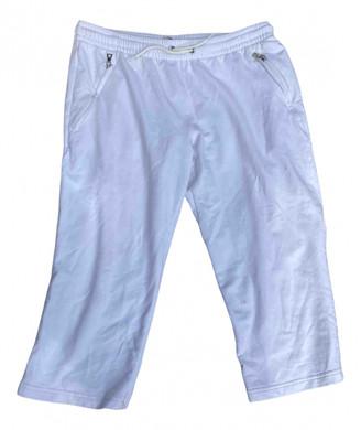 Prada White Cotton - elasthane Shorts