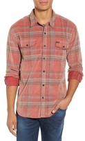 True Grit Men's Austin Canyon Plaid Corduroy Shirt