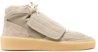 Fear Of God Skate High-top Suede Trainers - Mens - Grey
