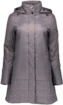 Larry Levine Pewter Quilted Coat