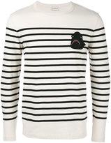 Moncler shark patch jumper - men - Cotton - XL