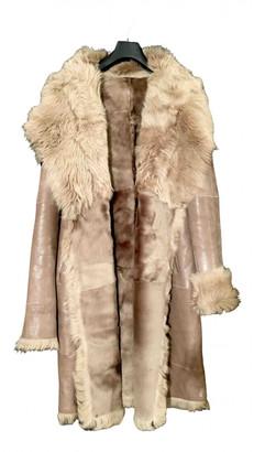 Ventcouvert Camel Mongolian Lamb Coats