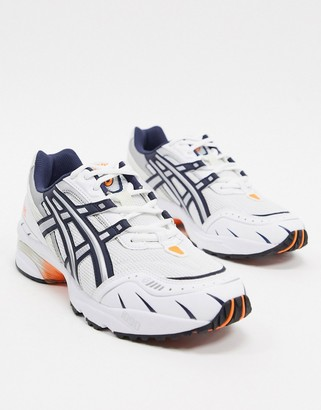 Asics SportStyle gel 1090 trainers in white