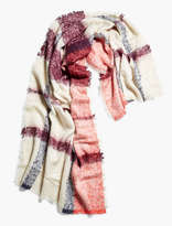 Lucky Brand Oversized Plaid Scarf