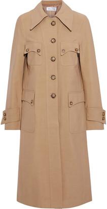 Victoria Beckham Cotton-blend Drill Coat