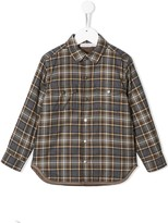 Stella McCartney plaid chest pocket shirt