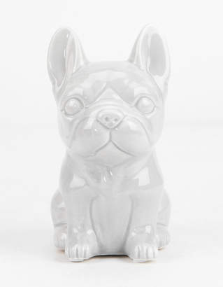 Ceramic Frenchie Coin Bank
