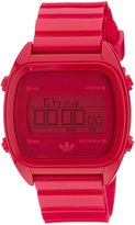 adidas Men's Sydney ADH2729 Red Plastic Quartz Watch with Dial