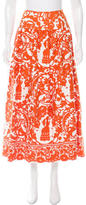 Carolina Herrera Printed Maxi Skirt