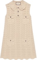 Gucci Crochet Knitted Mini Dress