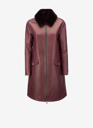 Bally Ladies Lamb Leather Coat