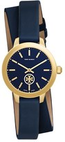 Tory Burch Women's 'Collins' Double Wrap Leather Strap Watch, 32Mm