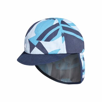 adidas Kids Cap Boys Training Sunny Infant Cap UV Protection DW4770 Beach Hat (OSFT - Toddler)