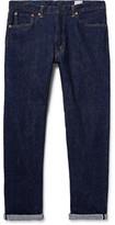 orSlow 107 Washed Selvedge Denim Jeans - Indigo