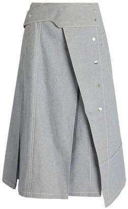 3.1 Phillip Lim High-Waist Denim Skirt