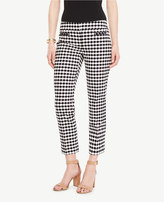 Ann Taylor The Petite Crop Pant in Scallop - Kate Fit
