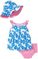 Gerber 3 Piece Dress Set (Baby) - Daisy - 0-3 Months