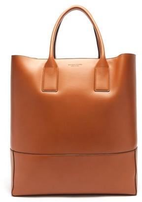 Bottega Veneta Oversized Leather Tote Bag - Tan