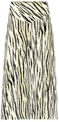 Baum und Pferdgarten Exclusive to Mytheresa a Senga tiger-print midi skirt