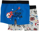 Hatley 2 Pack Boxers (Toddler/Kid) - Rock Band-5