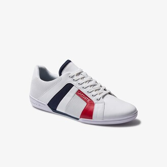 Lacoste Men's Chaymon Club Leather and Mesh Sneakers