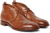 Officine Creative - Princeton Polished-leather Chukka Boots