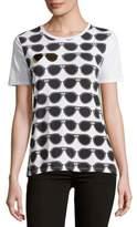 Karl Lagerfeld Allover Sunglasses Tee