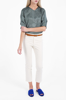 Isabel Marant Kick Flare Cropped Trousers