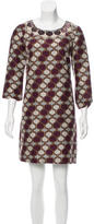 Tory Burch Embellished Printed Dress