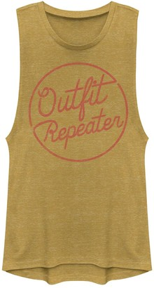 Juniors' Outfit Repeater Muscle Tank