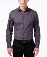 Alfani Classic-Fit Stretch Dot Print Dress Shirt, Only at Macy's