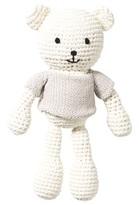 The Little Tailor Cream Hand Made Cotton Teddy Bear