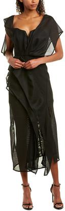 Acler Leone Midi Dress