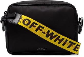 Off-White industrial logo cross body bag