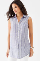 J. Jill Linen Sleeveless Tunic